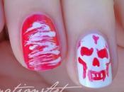 Halloween Nail Challenge: Teschi!