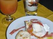 colazione all'americana benedict's per..