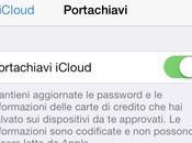 Guida come attivare servizio Portachiavi iCloud dispositivi