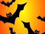 Halloween pipistrello croccanti