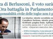 Decadenza Berlusconi, voto sarà palese