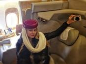 """first class"" emirates airlines .....audrey tritto final destination dhabi"""