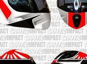 """Airoh Strada """"Kimi Iceboy"""" 2013 Graffic Impact"""