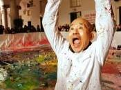 Shozo Shimamoto, mostra presso studio Giangaleazzo Visconti, sino gennaio 2014, Milano