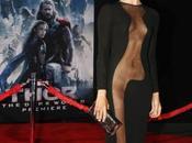 Jaimie Alexander super sexy carpet Thor: Dark World