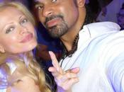 "David haye boxe world champions audrey tritto saturday nigh party"" moonlight boat dhabi"" formula 2013"