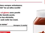 Etichetta Nutella nome gratis casa