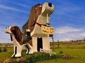 Bark Park Inn, dormire dentro beagle gigante