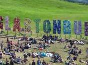 Glastonbury, rock, fango nuvole