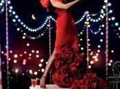 Vicky Martin Berrocal veste Thurman maggio Calendario Campari 2014