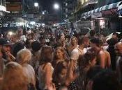 Riempire piazze Bangkok, Thailandia