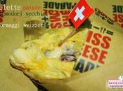 Omelette patate, pomodori secchi formaggi svizzeri