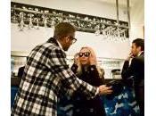 Lapo Elkann, Franca Sozzani all'inaugurazione negozio Milano (foto)