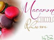 Macaron cioccolato rhum