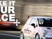 Cinture allacciate, edizione Make your Race talent palio Trofeo Abarth esclusiva Dmax (Canale DTT)