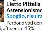 risultati voto Basilicata, strane analisi Repubblica