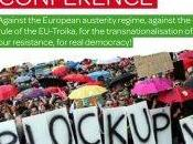 novembre Francoforte European action conference Blockupy