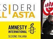 Novembre Giornata Internazionale Violenza donne: desideri all'asta Amnesty International