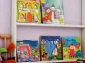 Frontal bookshelf, libreria misura bambino