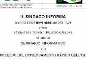 MERCOLEDÌ NOVEMBRE alle 17,00 Tricase COMPLESSO DISSECCAMENTO RAPIDO DELL'OLIVO
