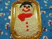Torta pupazzo neve