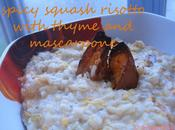 FracooksJamie: Spicy Squash Risotto Minted Asparagus