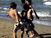 sfida sulla spiaggia