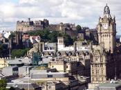 Edimburgo, scozia: castello, holyrood palace musica folk
