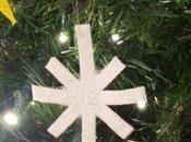 Decorazioni panno l'albero Natale