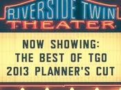 best TGO. 2013 Planner's