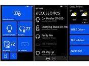 """""""Accessori"""" aggiornati Lumia Windows Phone supporto Nokia BH-121."""