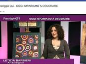 Letizia Barbieri ospite alla trasmissione televisiva Pomeriggio