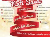 """Valerio Scanu ospite """"Nati Sardi"""" dicembre, Galà sostegno della Sardegna."""