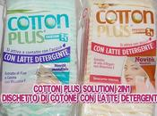 "COTTON PLUS SOLUTION 2IN1, dischetto cotone ""ripieno"" latte detergente"