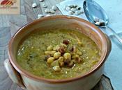 Zuppa cremosa cicerchie