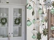 green white decorations
