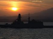 Golfo Arabico/ Nave Bergamini Borsini incontrano Marina Kuwaitiana