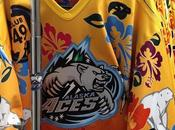 Alaska Aces, Hawaiian Night: hockey ghiaccio folklore
