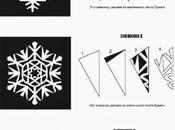 vacanze natalizie: tutorials realizzare fiocchi neve carta