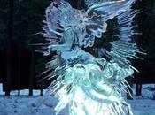Sculture ghiaccio neve Festival internazionale Harbin.