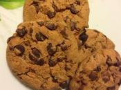 Cookies gocce cioccolato :ricetta biscottini deliziosi