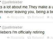 Justin Bieber smette cantare: pausa pensione anticipata?