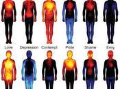 Mappa delle emozioni come vengono percepite corpo fisico