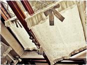 Tende,cuscini, complementi creativi country shabby chic