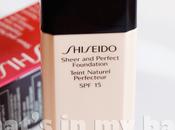 close make n°208: Shiseido, Sheer Perfect foundation
