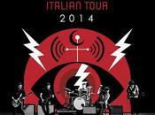 Doppio concerto Italia Pearl Milano Trieste giugno 2014.