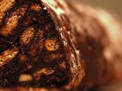 Salame cioccolato riciclare biscotti