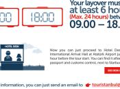 Istanbul, Europa: Consigli viaggio, TourIstanbul Turkish Airlines