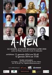 salto TEATRO: A-MEN uomini, nuove religioni altre crisi
