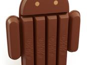Android KitKat intercettato sconosciuta versione KJT49K